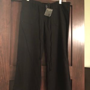 Linen and rayon casual pants